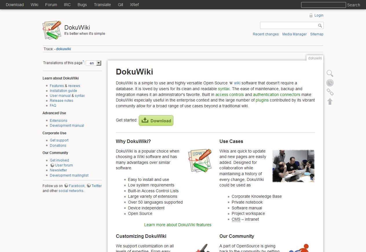 DokuWiki Start Page