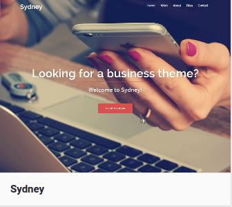 Тема Sydney для Вордпресс