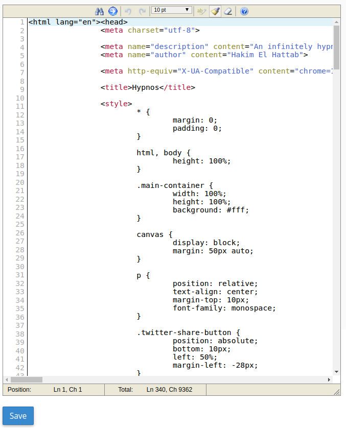 error templates
