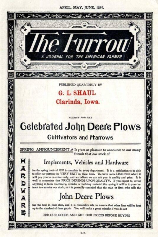 The Furrow в 1897