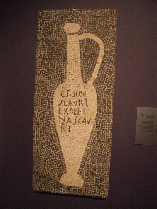 Древняя реклама рыбного соуса Скауроса
