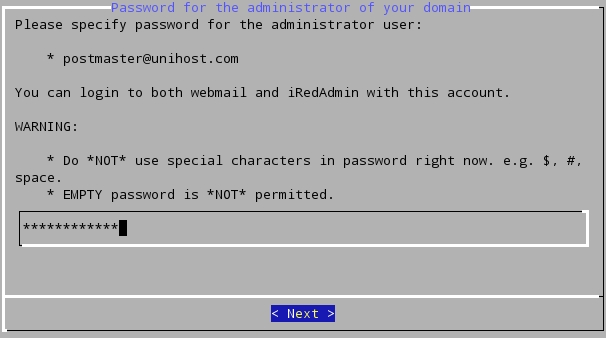 iRedMail on CentOS 7