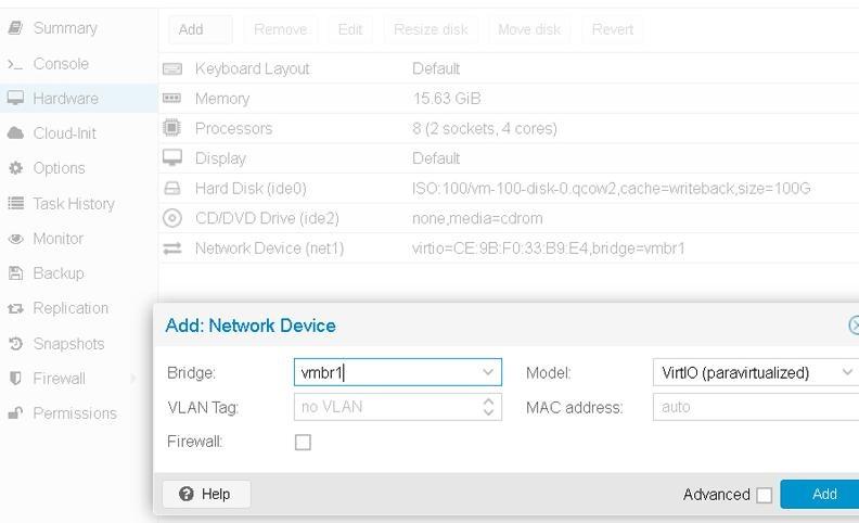 Configure NAT for virtual machines in Proxmox 5 VE – Unihost FAQ